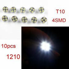 10Pcs 6V T10 1210 4SMD 4LED W5W 194 168 Led Wedge Light Bulbs Dashboard light