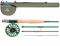 Maxcatch Premier Fly Fishing Rod with Avid Fly Reel and Rod Case, 3/4,5/6,7/8wt