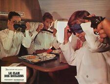 LE CLAN DES SICILIENS 1969 VINTAGE LOBBY CARD ORIGINAL #15