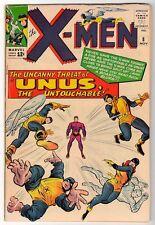 Marvel Comics FN+ 6.5 X MEN  # 8 1 1964  UNUS uncanny