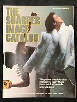 Vintage The Sharper Image Catalog Holiday 1984 Electronics Jewelry Luxury