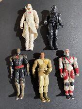 "G.I. Joe The Rise of Cobra 3 3/4"" Lot Of 5 Storm Shadow Snake Eyes Loose Figures"