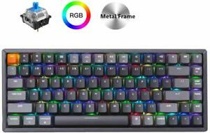 Keychron K2 Wireless Bluetooth USB Wired Gaming Mechanical Keyboard, Compact 84