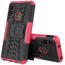 For Xiaomi Mi A2 /Mi 6X Hybrid Case 2 Pieces Outdoor Pink Case Cover New