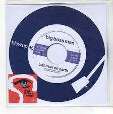 (FN1000) Big Boss Man, Last Man On Earth - 2014 DJ CD