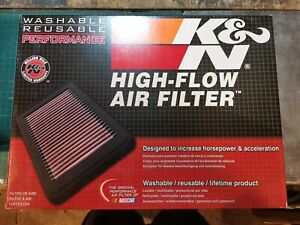 K&N High Flow Air Filter 33-3045 For TOYOTA HILUX 2.4/2.8 DIESEL 2015 on