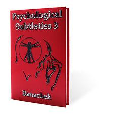 Sottigliezze psicologiche 3 (PS3) per Banachek-Libro