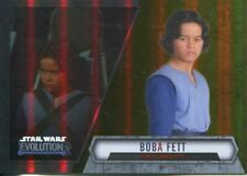 Boba Fett Star Wars Star Wars Evolution Collectable Trading Cards