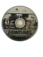 Frontlines: Fuel of War (Microsoft Xbox 360, 2008) Disc Only Tested Free ship