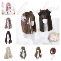 30-60CM Long Harajuku Alicegarden Women Daily Lolita Girl Michel Princess Wig