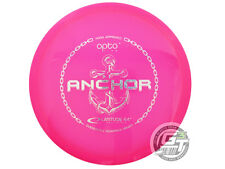 New Latitude 64 Opto Anchor 169g Pink Shatter Foil Midrange Golf Disc