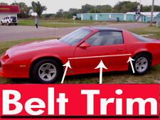 Chevy CAMARO IROC-Z CHROME BELT TRIM 1982 - 1992