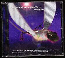 UNIVERSAL TRANCE (1999) - THE TRIP BACK - VOLUME 3 - 14 TRACKS - CD ALBUM, NEW
