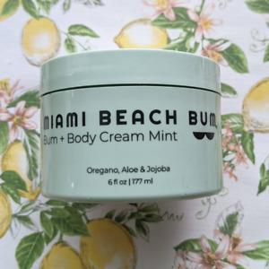 Miami Beach Bum Bum + Body Cream Mint Oregano, aloe & jojoba