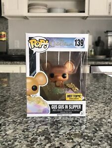 Gus Gus In Slippers Funko Pop Figure #139 Disney Cinderella With Protector