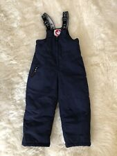 New CANADA WEATHER GEAR Boy 3T Toddler Down Puffer Snowsuit Pants Size 3T