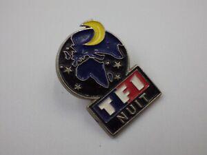 Pin ´S Vintage Pins de Solapa Pins Publicidad TF1 Noches TV Lote PI111