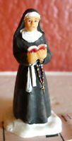Grandeur Noel Victorian Village Catholic Nun in habit Christmas 2001