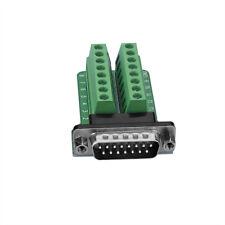 Db15-g2 male 15 pin conector terminal bloque puertos de adaptador schraubanschluss
