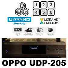 OPPO DIGITAL UDP-205 MULTI CODE REGION FREE 4K ULTRA HD BLU-RAY DVD PLAYER USED