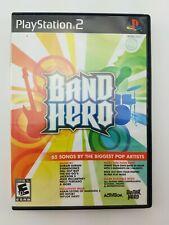 Band Hero Sony PlayStation 2 2009