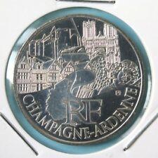 249 - 10 € FRANCE - 2011 : Région Champagne Ardenne - argent