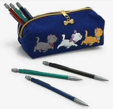 New listing Aristocats Pencil Case Make Up Jewelry Disney Cat Marie Toulouse Berlioz