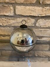 Pottery Barn Ornament Candle Pot Silver Size Medium Sold Out Christmas