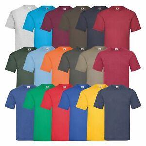 5er 10er Fruit of the Loom T-Shirts Sets T Shirt Mehrpack Farbsets Set NEU