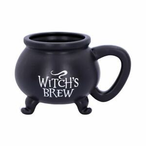 Nemesis Now Witches Brew Mug Cauldron Witchcraft Occult Wiccan Goth Cup U4791P9