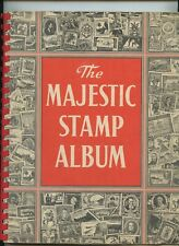 The Majestic Stamp Album 1960 128 pages No Stamps