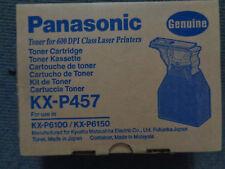 GENUINE PANASONIC KX P457 TONER CARTRIDGE for KXP 6100 6150 SERIES.