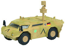 SCHUCO 452624900 FENNEC SCOUT ISAF Spähwagen Bundeswehr HO 1:87 NEUF