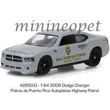 Greenlight LOOSE Autopistas Highway Patrol Puerto Rico 2008 DODGE CHARGER Police