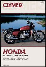 CLYMER MANUAL HONDA GOLD WING GL1000 1975-1979, GL1100 & INTERSTATE 1980-1983