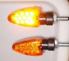 2 X LED Naranja luz direccional YAMAHA YZF600R ThunderCat,TENERE,VIRAGO,FAZER