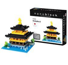 NEW Nanoblock Kinkaku-Ji Construction toy Micro Sized Blocks Nano Blocks NIB