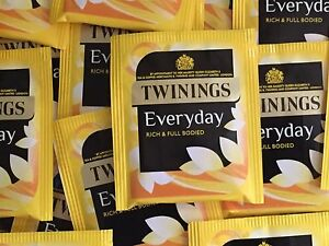 Twinings Everyday Tea - individually enveloped tea bags - FREE UK POSTAGE