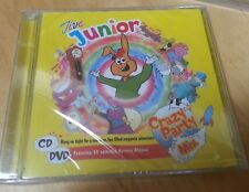 Jive Junior CD and DVD Crazy Party Mix New and Sealed