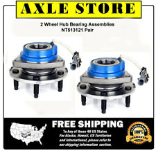 2 New Hub & Bearing Assembly Left Right Pair for GM models With 1 Year Warranty