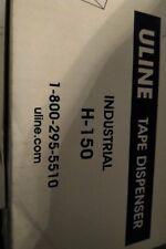 Uline H 150 Tape Gun Shipping Dispenser Industrial 2 Side Loader Sealed New