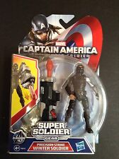 "Marvel Captain America - Precision Strike Winter Soldier 3.75"" figure - BNIB"