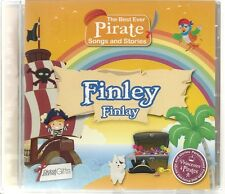 FINLEY/FINLAY - THE BEST EVER PIRATE SONGS & STORIES PERSONALISED CHILDREN'S CD