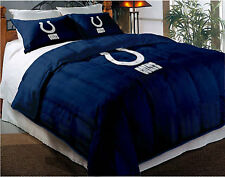 Indianapolis Colts NFL Twin/Full Comforter Pillow Sham Set FREE US SHIPPING