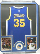 a8025037920 KEVIN DURANT Autographed Golden State Warriors Jersey Framed w  Photos CAS  CoA