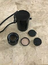 Canon Lens FD 100mm 1:2.8 S.S.C. Japan Carrying Case
