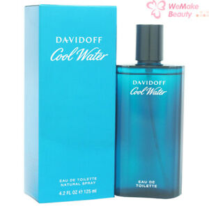 Cool Water Cologne Davidoff for Men 4.2oz EDT New In Box