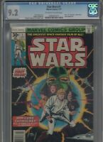 Star Wars #1 CGC 9.2 NM- 1ST APP LUKE, LEIA, HAN SOLO, DARTH VADER! Huge Auction