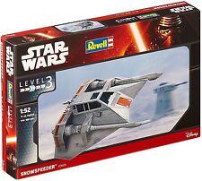 STAR Wars-Snowspeeder 03604-REVELL Model Kit-Level 3 NEW NUOVO CON SCATOLA
