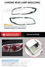 Chrome Headlight Taillight Lamp Cover Molding for HYUNDAI 2010-2012 Santa Fe